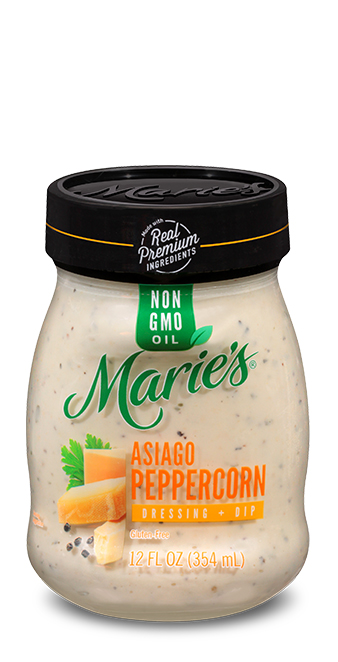 Try Marie's Asiago Peppercorn dressing.