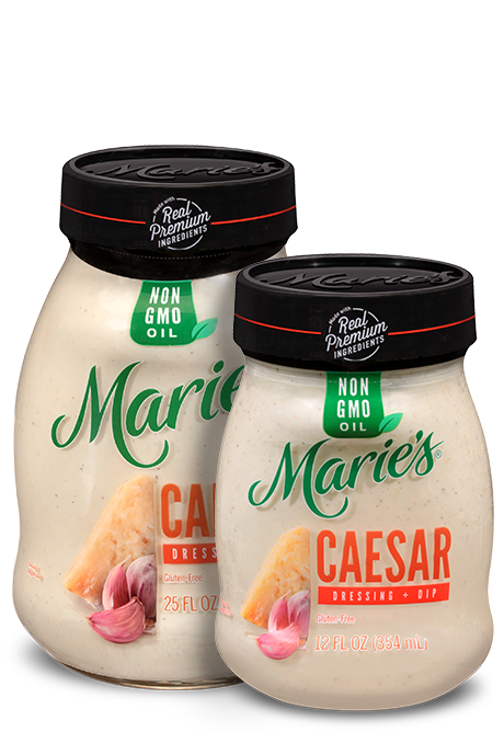 Try Marie's Caesar dressing.