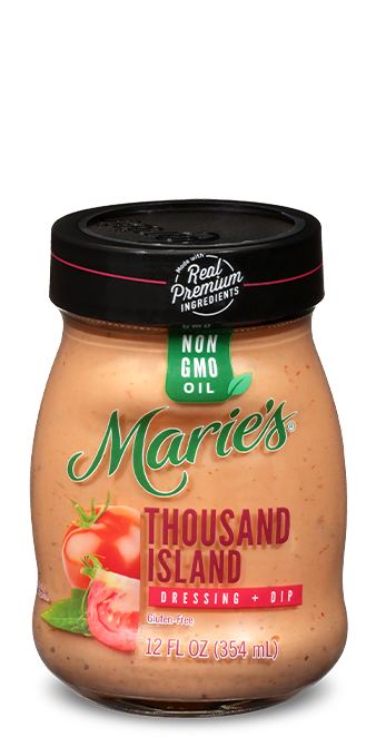 Try Marie's Thousand Island dressing.