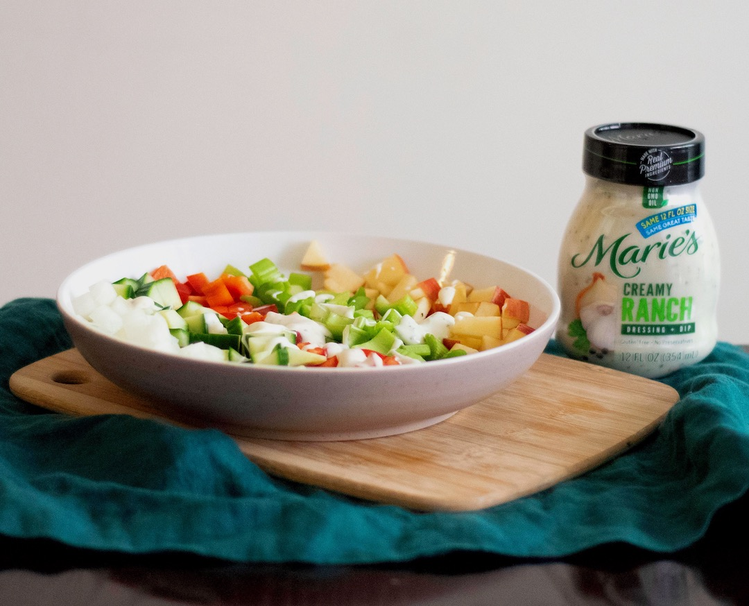 Marie's Creamy Ranch Dressing - Farmer's Chopped Salad